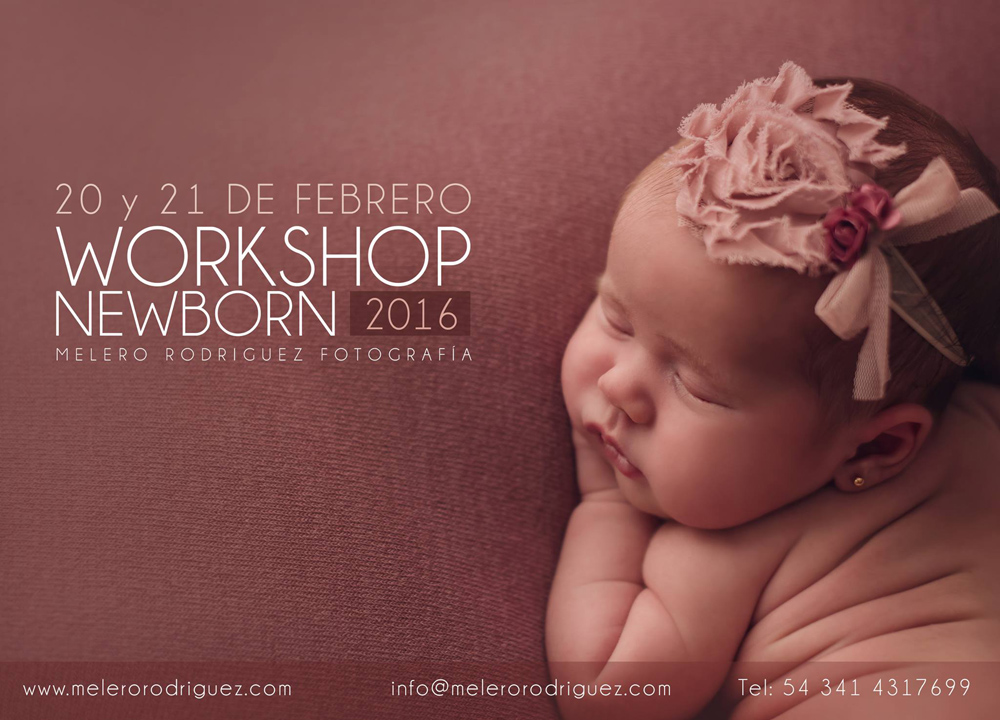 workshop newborn melero rodriguez photography